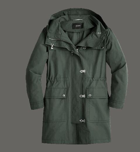 J.crew lightweight utility jacket